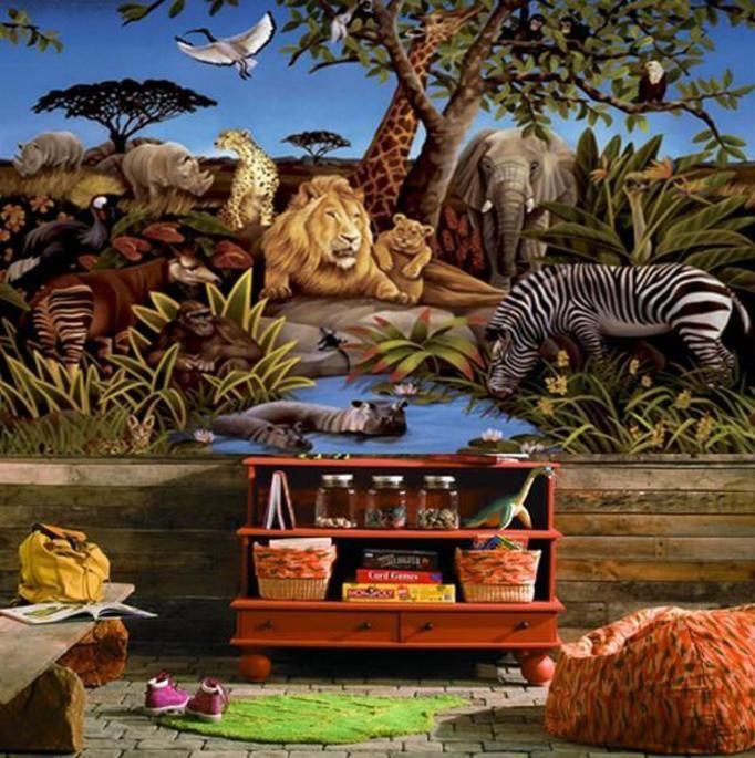 styl safari