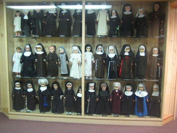 muzeum lalek w sutannach