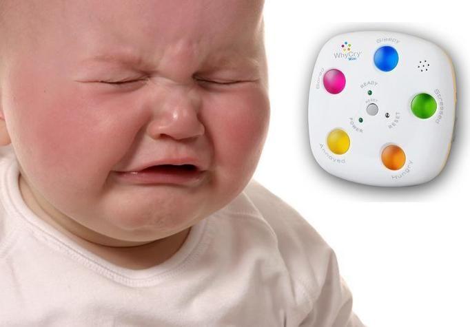 Jak rozpoznać dlaczego dziecko płacze