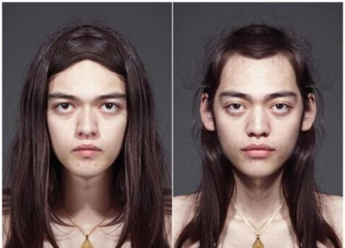 asymetria twarzy