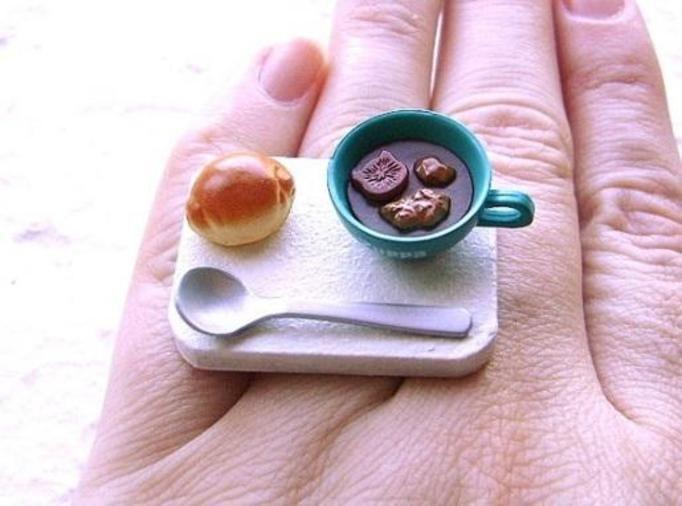 pierścionki z oczkiem