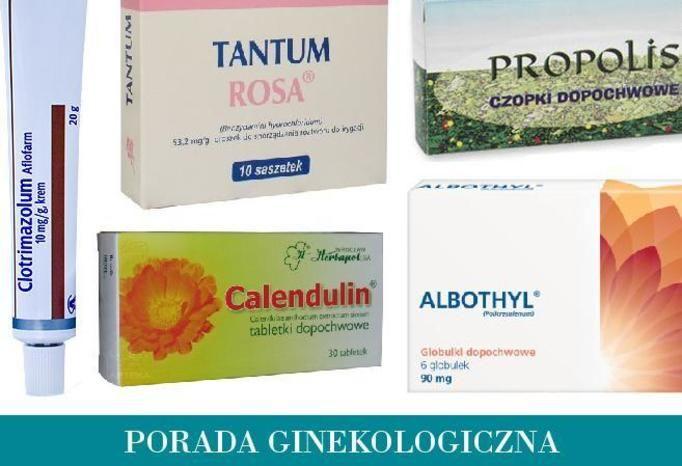 leki bez recepty na infekcje pochwy