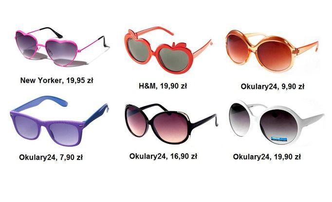 okulary przeciwsłoneczne wiosna 2011