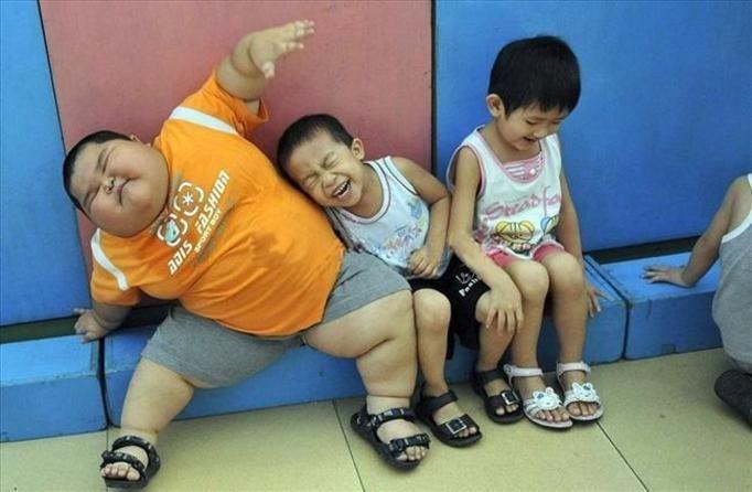 otyłe dziecko