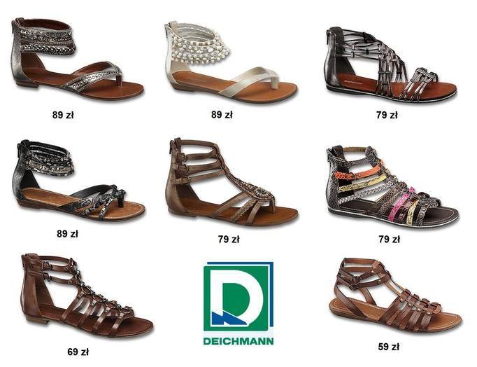 sandały Deichman