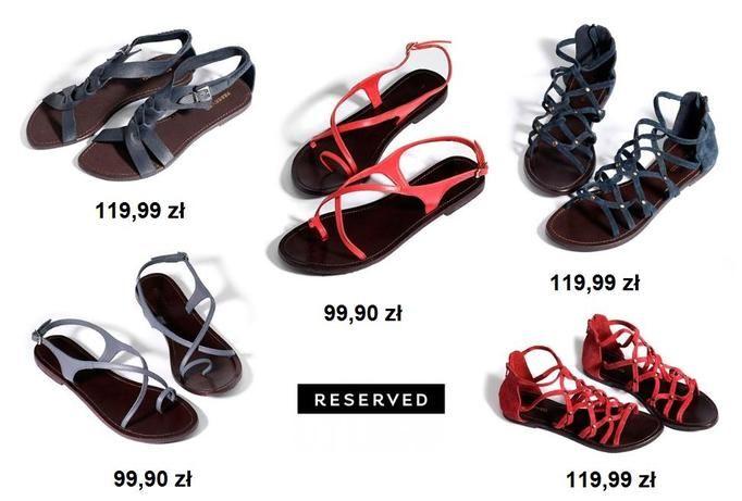 sandały Resereved
