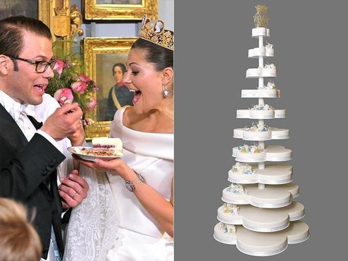 tort weselny księżniczki Wiktorii