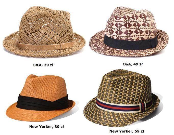 kapelusze na lato
