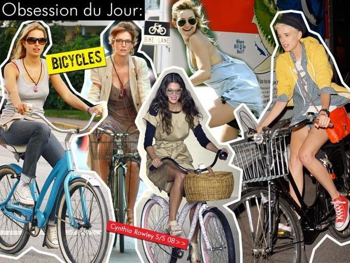 gwiazdy na rowerach