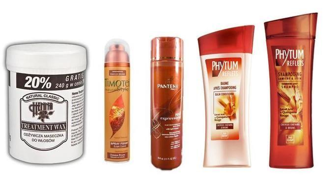 kosmetyki do ciemnych włosów