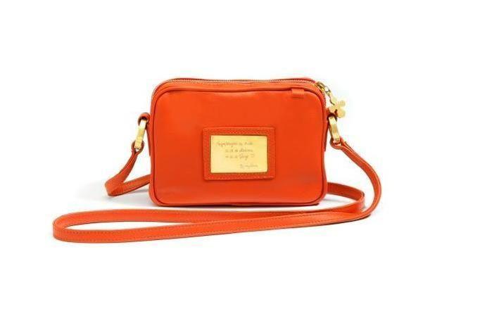 torebka lilou pomarańczowa