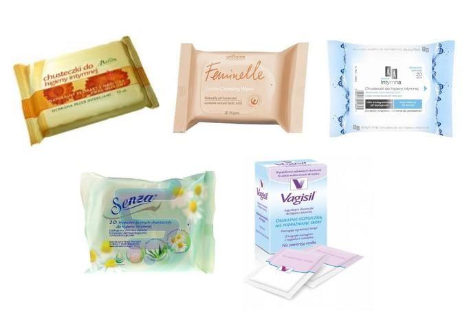 chusteczki do higieny intmynej