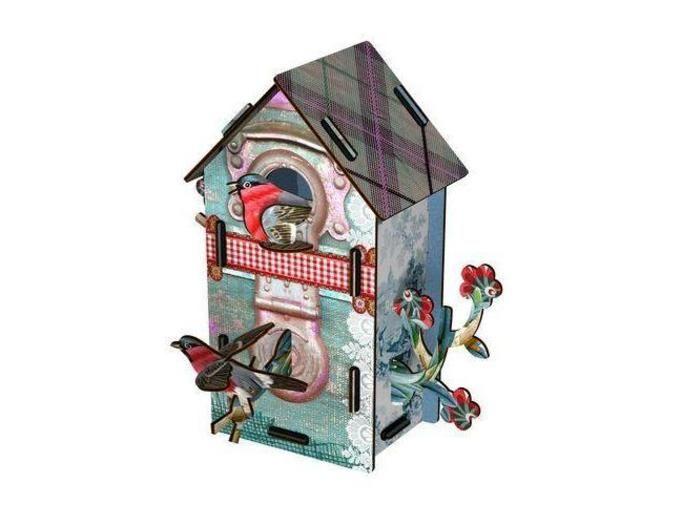 domek dla ptaszka