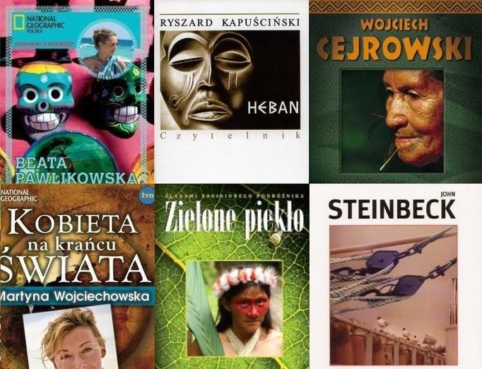 książki o podróżach
