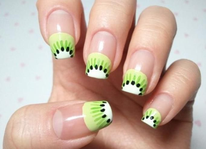 manicure kiwi