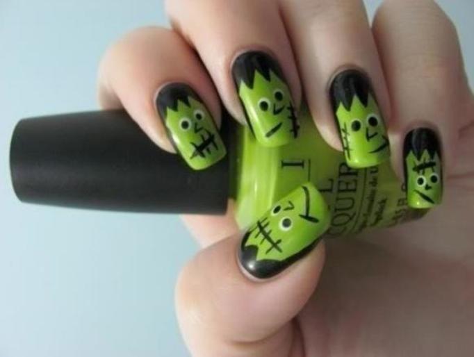manicure shrek