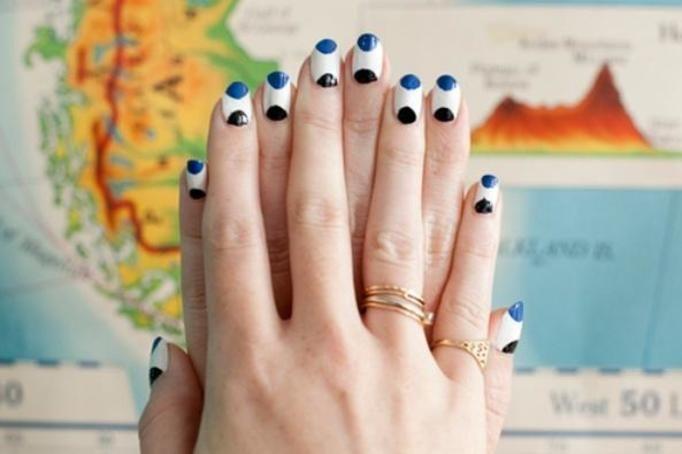 manicure wzór