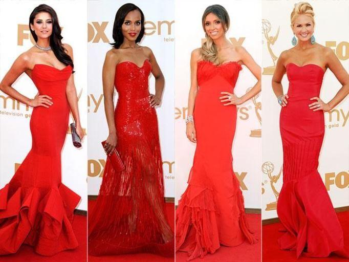 czerwone sukienki
