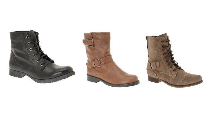 1615a234 Płaskie buty na jesień i zimę 2011 (Motocyklówki, jazzówki ...