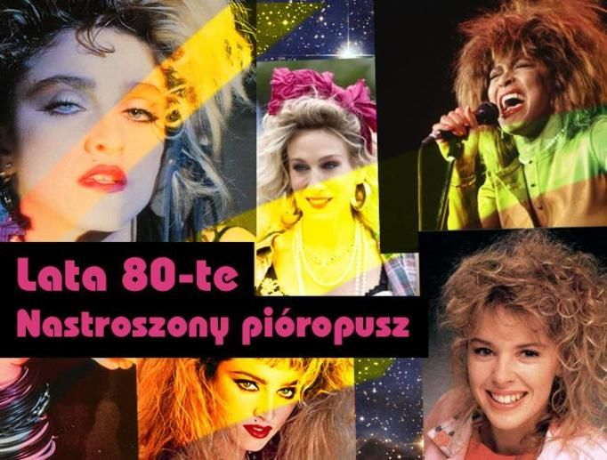 fryzury lata 80