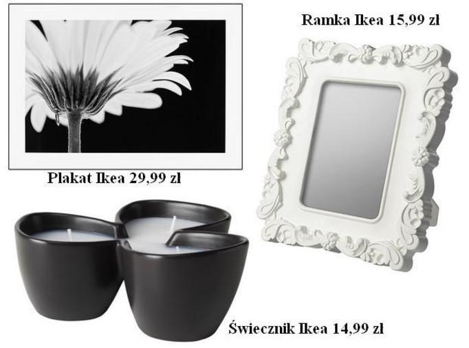 Wnętrze w stylu Black&White