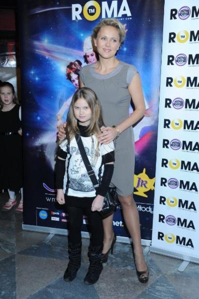 Anna Samusionek z córką