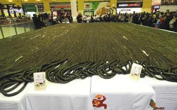 najdłuższe roll sushi na świecie