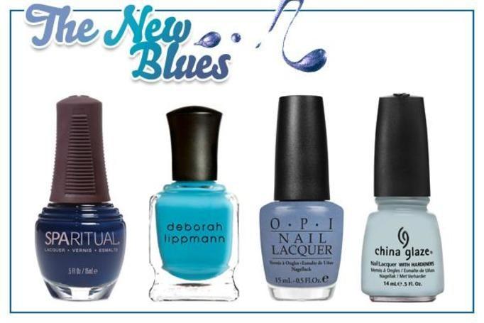 lakiery do paznokci niebieskie