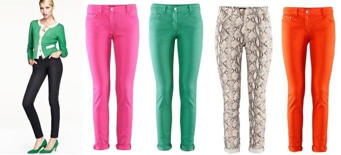 spodnie h&M