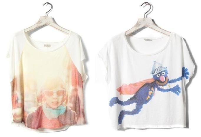 t shirt pull&bear