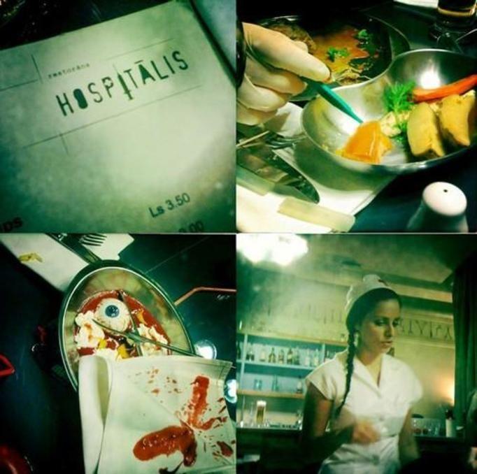 hospitalis restaurant