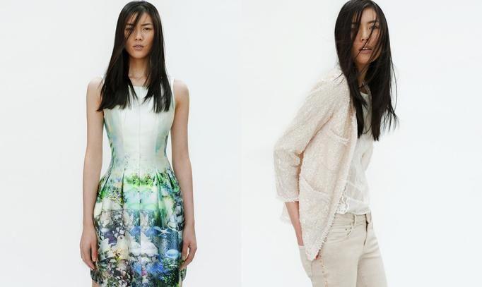Look Book Zara wiosna 2012