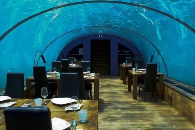 podwodna restauracja