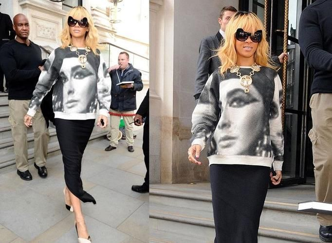 Rihanna styl 2012