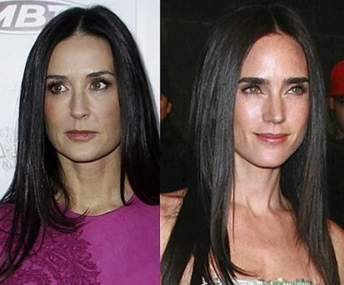 Demi Moore i Jennifer Connelly