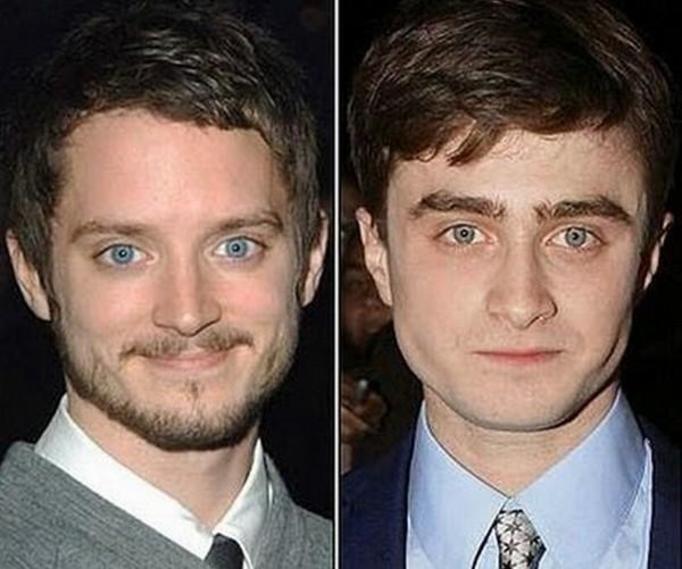 Elijah Wood i Daniel Radcliffe
