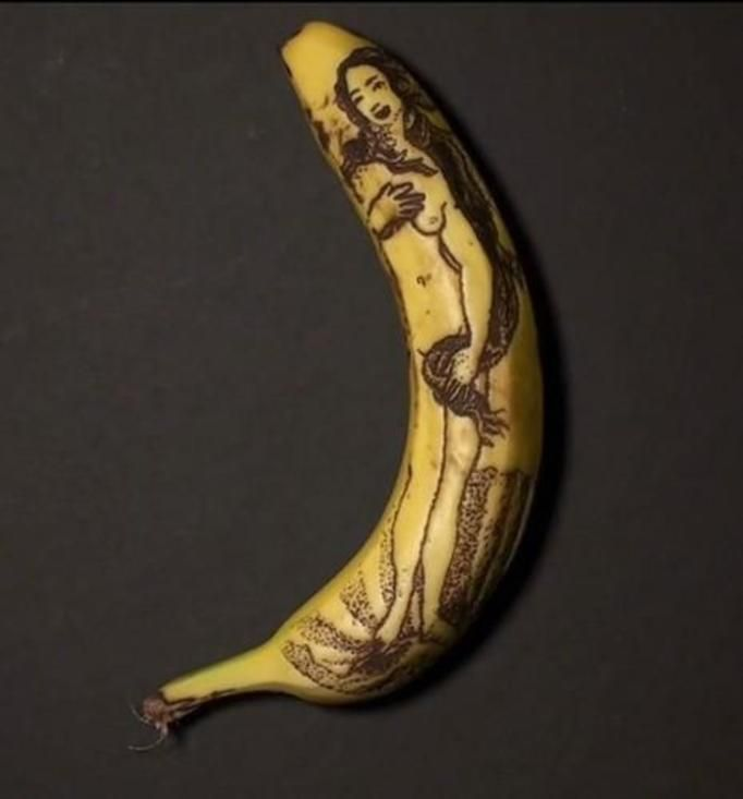 bananowe tatuaże