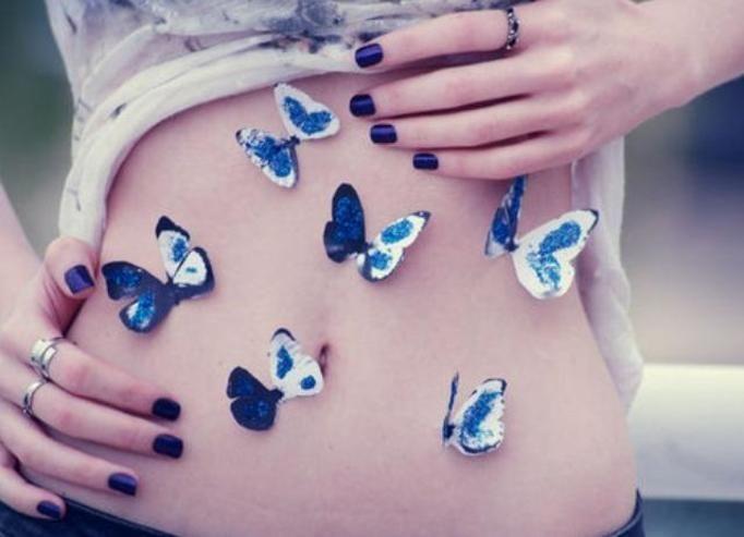 Motyle w brzuchu