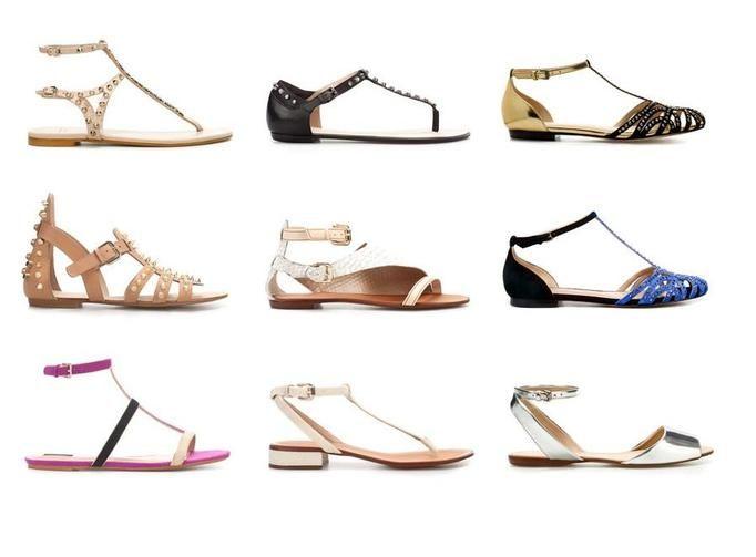 Sandałki wiosna 2012