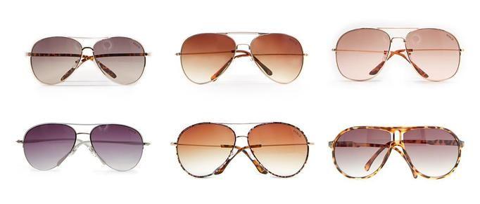 Mango okulary przeciwsłoneczne aviatorki