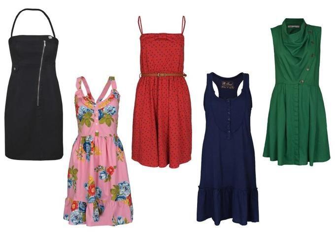 Sukienki wyprzedaże lato 2012