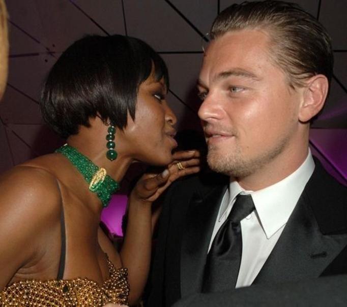 Naomi Campbell i Leonardo DiCaprio