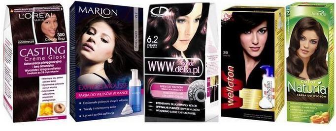 papitest farby do włosów