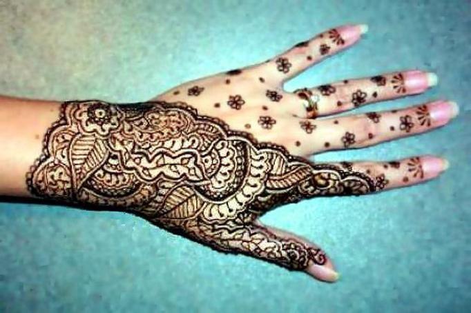 Tatuaże Dłoni I Stóp Mehendi To Hinduska Tradycja