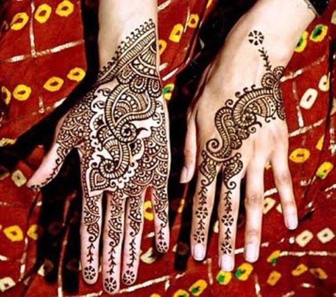 Tatuaże Dłoni I Stóp Mehendi To Hinduska Tradycja Malowidła Są