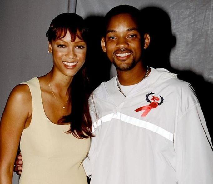 Tyra Banks i Will Smith