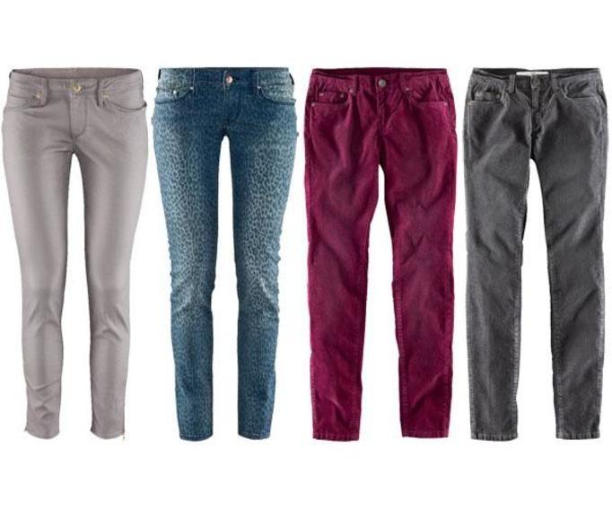 Spodnie H&M jesień 2012