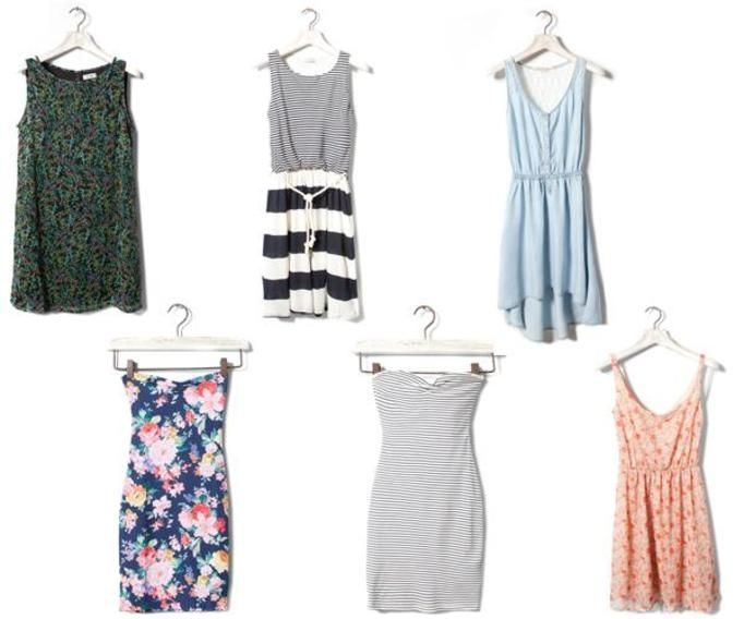 Sukienki jesień 2012