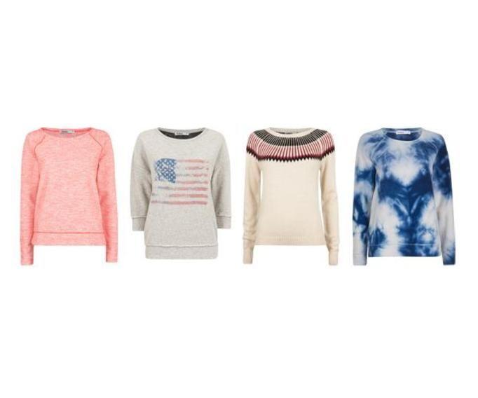 Swetry i bluzy jesień 2012