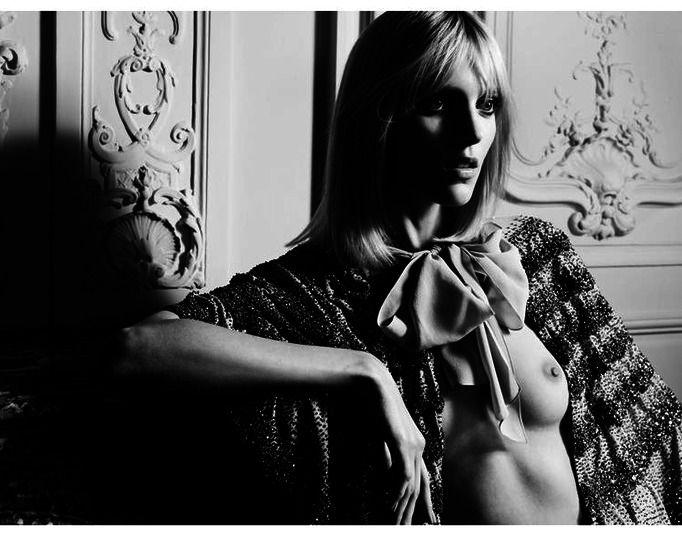 Anja Rubik Saint Laurent